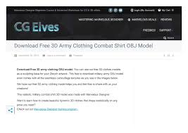 Program For Designing Clothes Calaméo Free 3d Army Clothing Combat Shirt Obj Model For