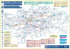 Metro Bus Map by Prague Metro Map In Pdf Weather In Prague Prague Guide Eu
