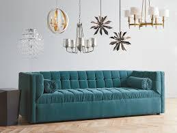 Grey Fabric Chesterfield Sofa by Dwellstudio Langford Chesterfield Sofa U0026 Reviews Dwellstudio