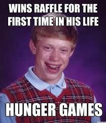 Funny Hunger Games Meme - ahahah funny stuff pinterest bad luck brian haha and hunger