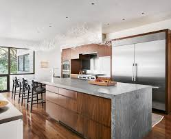 linear kitchen kitchen mark ashby design