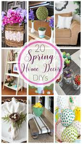 20 spring home decor diys fave mom