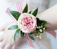 Prom Wristlets Periwinkle Flowers Toronto Rosedale Davisville Leaside Corsages