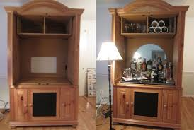 Diy Bar Cabinet Diy Bar Cabinet And Diy Turn An Armoire Into A Home Bar