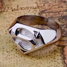 superman wedding rings superman stainless steel ring