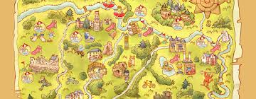 World Treasure Map by New Release