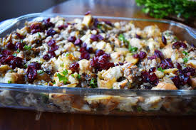 bread dressing recipes for thanksgiving cranberry apple sausage stuffing modern honey