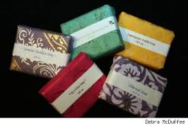 paper wrapped soap c c lowell so many summer paper crafts