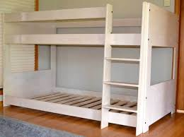 modern mid bunk bed loft and bunk