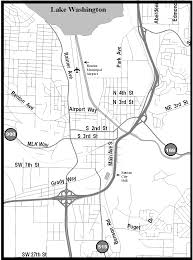 Renton Washington Map by City Of Renton Airport Directions