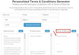 terms u0026 conditions template ecommerce how to guide
