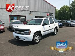 chevrolet trailblazer white 2005 chevrolet trailblazer sport utility 4 dr in orwell oh