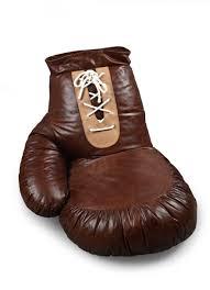 siege en forme de siège en forme de gant de boxe en cuir et synthétique dim 90 x 80 x