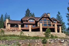 European Home Design Inc Timber Home Kitchens Laurette Chateau Timber Frame Exterior