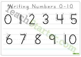 writing numbers 0 20 dotted font teaching resource u2013 teach starter