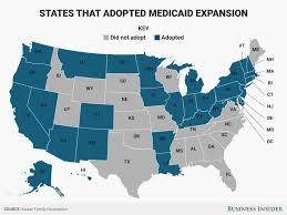 Show Me The United States Map by Map Shows States Hit Hardest By Medicaid Cuts In Senate Healthcare