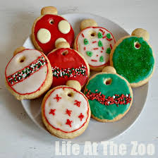 advent calendar bauble cookies at the zoo
