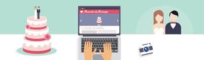 le site du mariage créer simplement et rapidement un site web de mariage