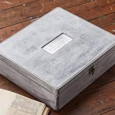 keepsake box personalised whitewashed wood keepsake box gettingpersonal co uk