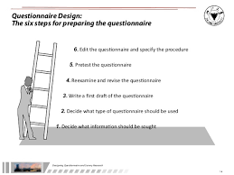 questionnaire design designing questionnaire and survey research updated jan 2011