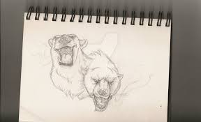 polar bear tattoo sketch by refeathers1104 on deviantart