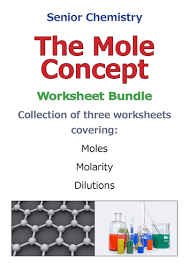 the mole concept dilutions of chemical solutions by