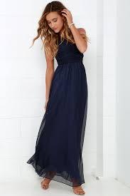 navy blue one shoulder dress other dresses dressesss