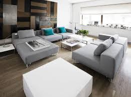 softline canapé canapé modulable contemporain en tissu pour établissement