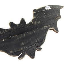 halloween bat wings wood hanger 27 1 2 inch www ribbonco com