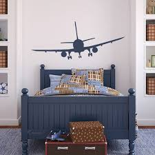 airplane home decor 62x26inches airplane airline aeroplane removable graphic art