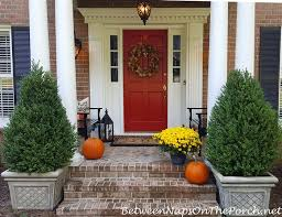 How To Decorate Your House For Fall - decorate your porch for autumn u0026 halloween
