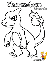 charmander coloring pages charmeleon coloring page free printable