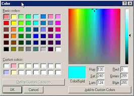 colour color html color code generator
