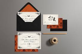 halloween wedding invitations printable halloween wedding