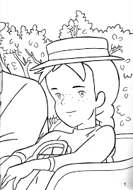 luxury anne of green gables coloring pages 55 with additional