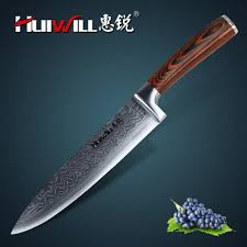 japanese carbon steel kitchen knives huiwill luxury 8 japanese damascus 67 layers carbon steel kitchen
