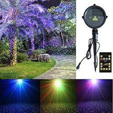 Landscape Laser Lights Laser Lights Tepoinn Outdoor Star Projector Waterproof Rgb Motion
