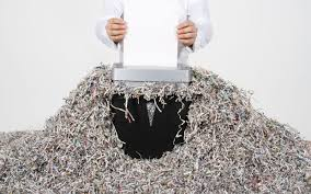 where to shred papers for free another frugal hack shredded paper