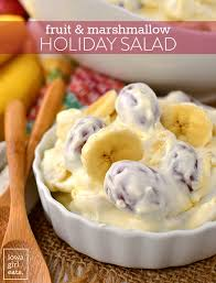 fruit marshmallow holiday salad iowa eats