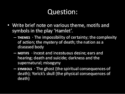 Supernatural Themes In Hamlet   introduction to the play hamlet