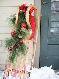 Christmas Outdoor Decorations Sleigh by 40 Rustic Outdoor Christmas Decorations Ideas Christmas Celebrations