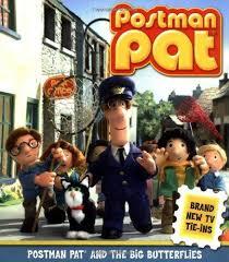 postman pat big butterflies 9781416910787 paperback