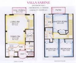 small space floor plans story villa floor plans sabine arts design ideas small space house
