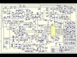 induction cooker schematic circuit diagram วงจรเตาแม เหล กไฟฟ า