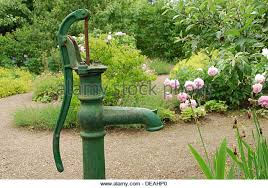 garden water well stock photos garden water well