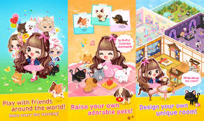 line play free anime dressup game like gaia online for ios and