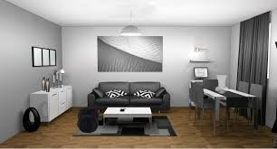 deco salon gris et taupe peinture salon gris perle de la fenêtre qui est marron deco