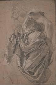 Leonardo Da Vinci Drapery Leonardo Da Vinci Drapery Study For A Kneeling Figure Seen In