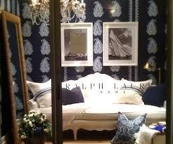 Ralph Lauren Interior Design Style Ralph Lauren Home Chic Seaside In Blue And White Completely Coastal