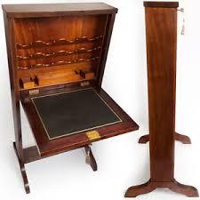 bureau secretaire antique antique slimline bureau fold up desk satinwood secretaire